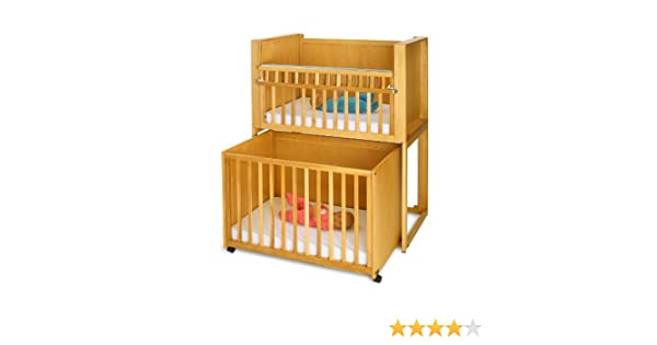 Amazoncom Stackable Space Saving Cribs C2 Honey Space Saver