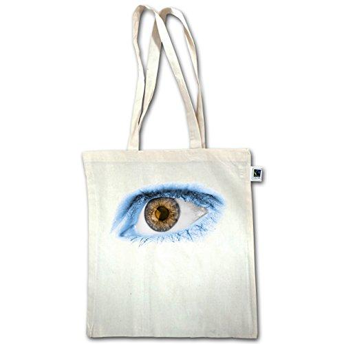 Paesi - Eye Bodypaint Argentina - Unisize - Natural - Xt600 - Manico Lungo In Juta Bag