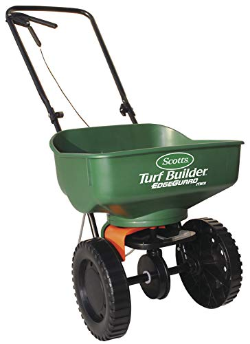 Scotts Turf Builder Edgeguard Mini Broadcast Spreader (Best Lawn Spreaders 2019)