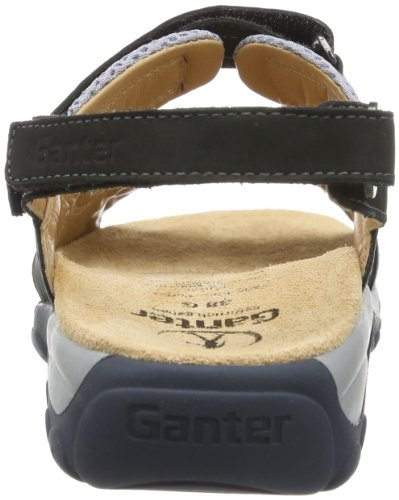 Ganter Glady Weite G 7-205922-30760 - Sandalias de cuero para mujer, color azul, talla 36 Azul (Blau (ocean/silver 3076))
