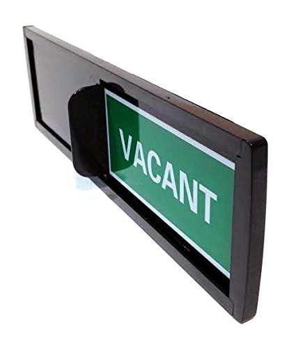 Privacy Sign (Do Not Disturb Sign, Restroom Sign, Office Sign, Conference Sign, Vacant Sign, Occupied Sign) - Tells Whether Room in Vacant or - Sign Room Conference