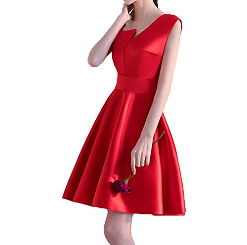 Color Cocktail Silver Short Party Dress Dress Dresses e Strap Cute Homecoming Red Special qpBwfqr