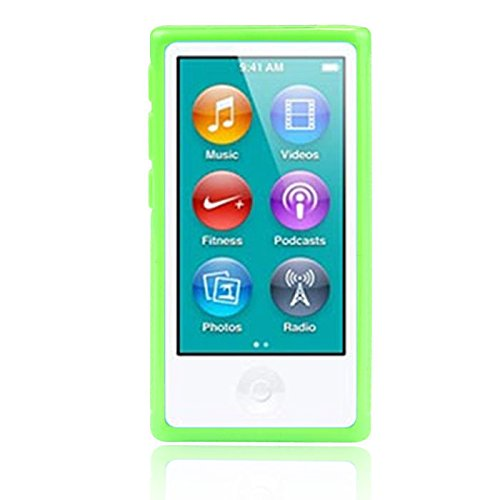 new-aobiny-mp3-player-tpu-rubber-gel-case-soft-cover-belt-clip-for-ipod-nano-7-7g-7th-gen-green