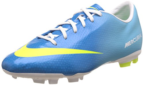 Blue Mercurial IV Boots Nept Victory Junior Nike Soccer FG Volt T8F6q8fw