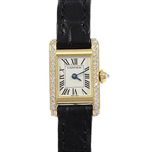 [カルティエ] Cartier WB200751 ミニタンク YG/D クォーツ(2600025623123) 中古 B07CTMSM4Q