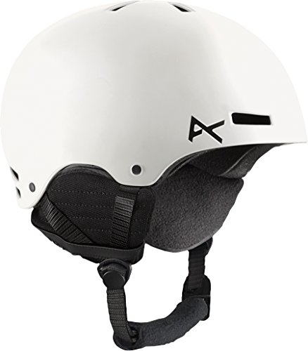 Anon Mens Lens - Anon Men's Raider Helmet, White, Small