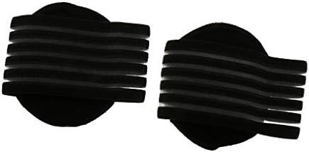 Generic 1 Paar Fuß Ferse Schmerzlinderung Fersensporn Pads Senkfußeinlage Schwarz