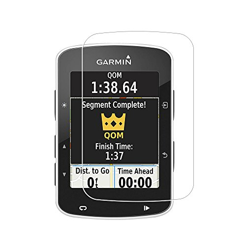 Zshion Screen Protector for Garmin Edge 820 , 9H Hardness Tempered Glass Screen Protector for Garmin Edge 820 with Anti-fingerprint Bubble-Free Crystal Clear