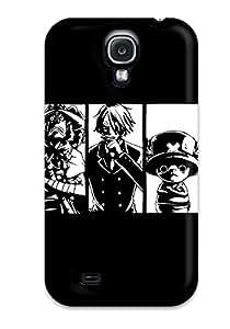 New One Piece Anime Tpu Case Cover, Anti-scratch DanRobertse Phone Case For Galaxy S4