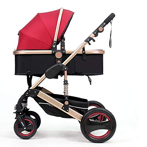 WY-Tong Prams Baby Pushchairs High Landscape Can Sit and Fold Two-Way Four-Wheel Shock Absorber Winter and Winter Bb Trolley