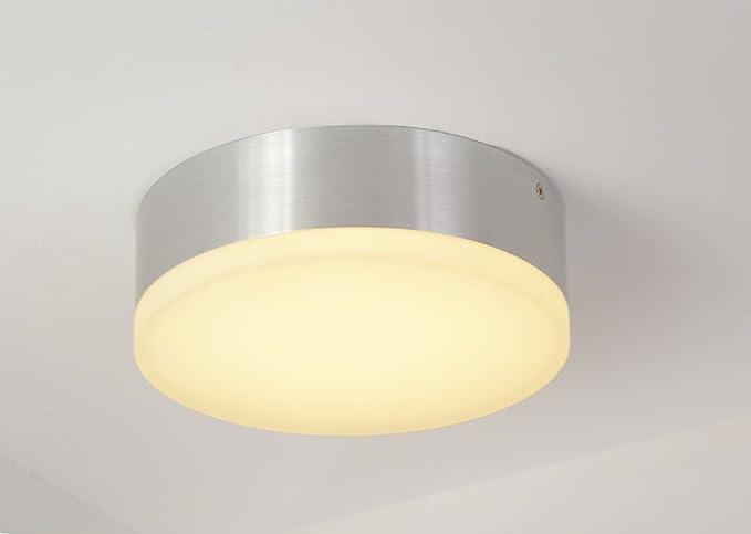 Lanfu luce applique da parete soffitto intorno bianco caldo 15w
