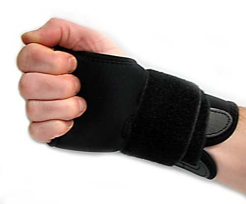 RECHTS. Handgelenkbandage aus Neopren, verstellbar, zur Vorbeugung von Verletzungen. 013251001501