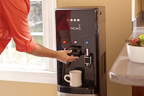 hTRIO Hot & Cold Water Dispenser and Single Serve Coffee Brewer by Primo (Image #2)