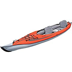 The advanced frame convertible is a fifteen foot kayak that can be paddled solo or tandem. With an open deck design, you can easily enter and exit the boat or utilize the optional single or double decks to convert your advanced frame converti...