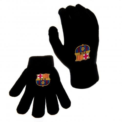 FC Barcelona Authentic Knitted Gloves Jr/Sr
