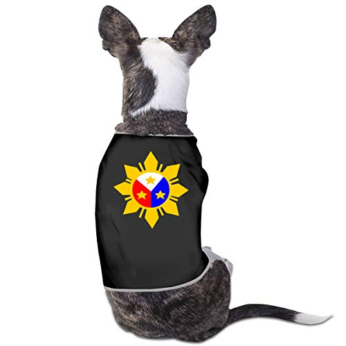(LNUO-2 Pet Shirt, Philippine Flag Sun Dog Cat Vest)