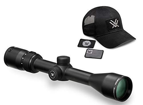 Vortex Optics Diamondback 4-12x40 Second Focal Plane Riflescope - Dead-Hold BDC Reticle (MOA) with Baseball Hat
