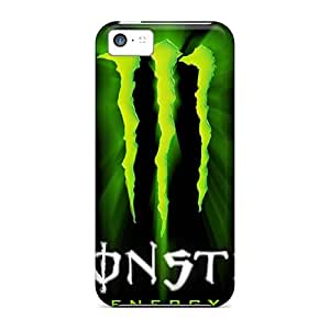 High Quality Phone Case For Iphone 5c With Unique Design Vivid Monster Pattern MarieFrancePitre