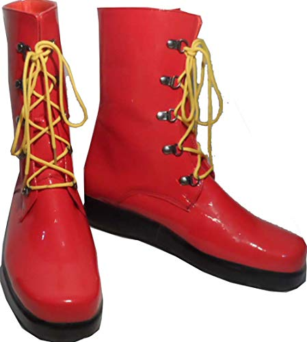 Mister Bear Ronald McDonald Cosplay Costume Boots Boot Shoes Shoe]()