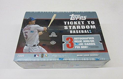 2009 Topps Ticket to Stardom Baseball Box (Hobby) (2009 Ticket Topps)