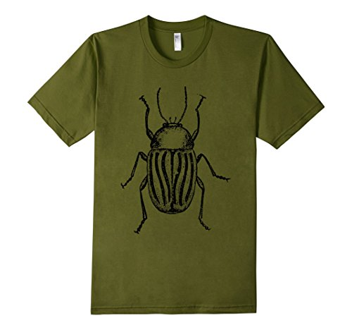 mens-the-new-antique-striped-beetle-t-shirt-medium-olive
