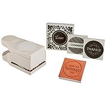 Martha Stewart 534201 Stamp & Punch Set, Circle