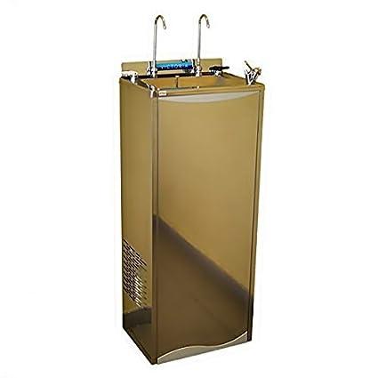 Fuente refrigeradora de agua en acero inoxidable. Con Sistema de Osmosis Interna 5 etapas