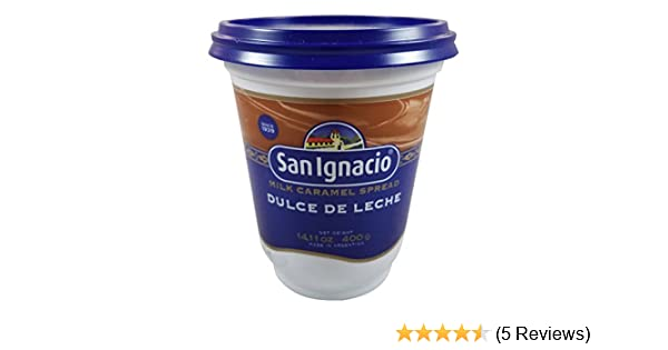 Amazon.com : SAN IGNACIO Dulce de Leche San Ignacio Clasico, 13.25 lb : Grocery & Gourmet Food