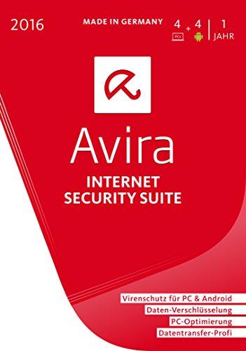 Avira Internet Security Suite 2016 - 4 Geräte / 1 Jahr