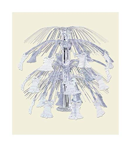 Bargain World Silver Bell Cascade Centerpiece (with Sticky Notes)