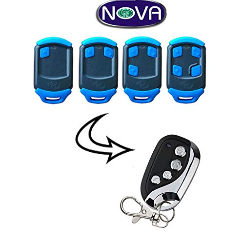 Calvas 5pcs For NEW NOVA Blue Gate/Garage Remote Control Very good (Nova Gate Control)