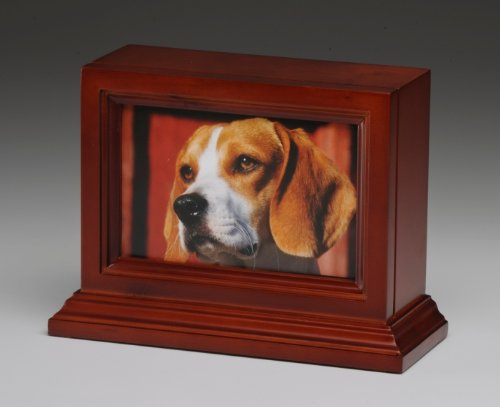 Pet Urn Peaceful Pet Urn Dog Cat Animal Cremation Urn Photo Frame With Glass (Wholesale Cremation Urns)