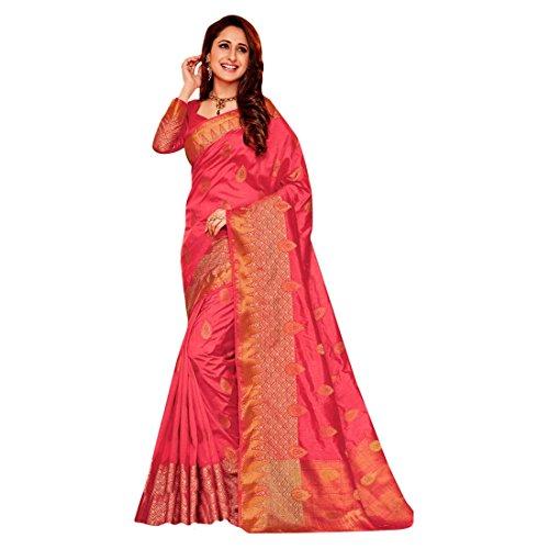 ri Saree Collection Silk Sari Blouse Formal Designer Women Indian Ethnic 2602 ()