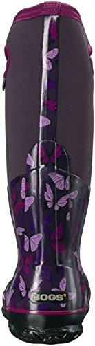 Rubber Butterfly Classic Bogs Eggplant Multi Boots Womens wqt7vxa