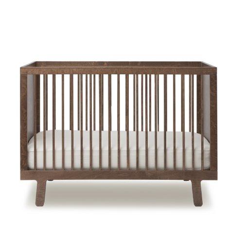 Oeuf Sparrow Crib, Walnut
