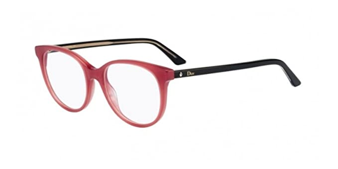 Amazon.com: Dior Montaigne 51/18/140 16 Brick Black - Gafas ...