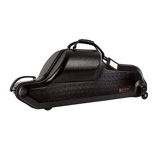 Protec Baritone Saxophone Case (Bb and Low A), ABS Shell Protection, Zip Series ()