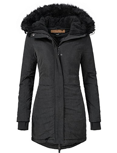 Eight2Nine dames manteau manteau d'hiver parka d'hiver 44372AEN 1?couleur tailles XS  XL Noir
