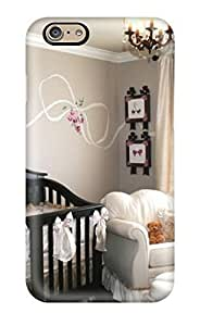 Awesome Baby Girl Nursery With Unique Wall Art Flip Case With Fashion Design For Iphone 6