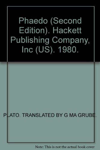 Phaedo (Second Edition). Hackett Publishing Company, Inc (US). 1980.