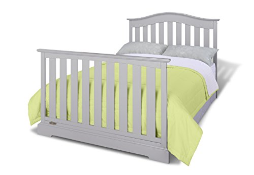 Graco Westbrook Crib, Pebble Easily Converts to Toddler Bed Day Bed, Three Adjustable Height Required
