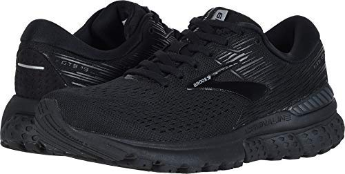 Brooks Women's Adrenaline GTS 19 Black/Ebony 5 D US by Brooks (Image #4)