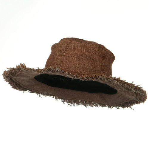 Hemp-Hat-with-Frayed-Brim-Brown-W02S30D
