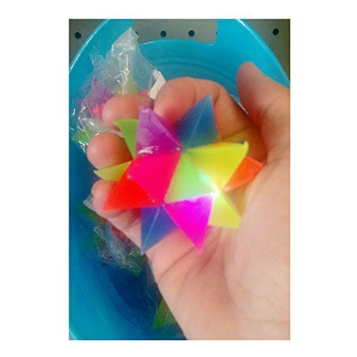 Flashing Star light up ball sensory toy autism fidget visual stimulation therapy Autism Awareness Flashing Star Ball