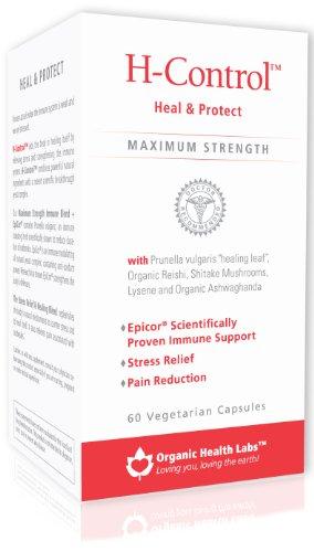 H-Control, Herpes Remedy & Immune Restore 60-Count Veggie Capsules