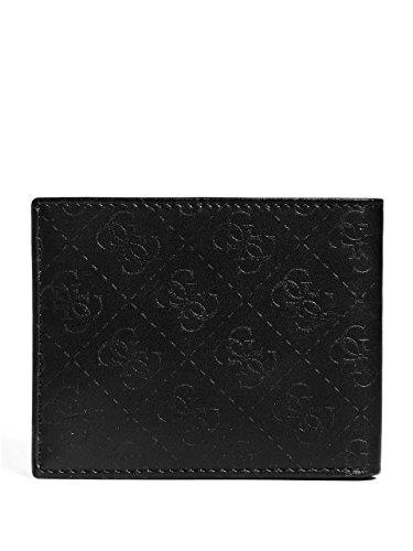GUESS Black Xavier Xavier Xavier GUESS Men's Men's Logo Logo Men's Logo Wallet Wallet Black GUESS Wallet qXg0wgA
