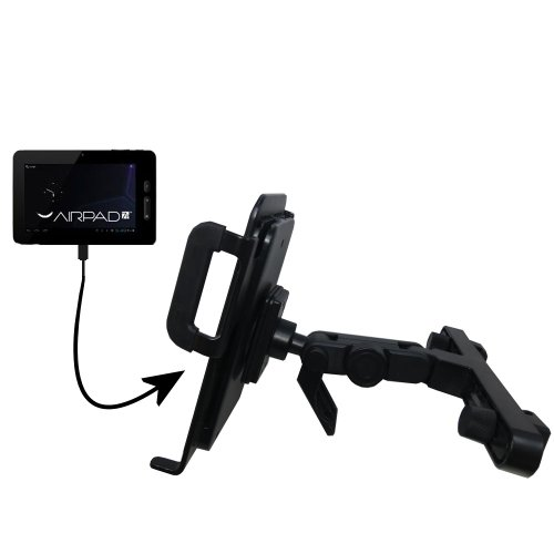 Price comparison product image Gomadic Brand Unique Vehicle Headrest Display Mount for the X10 Airpad 7P