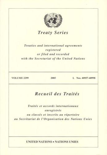 Treaty Series 2299 I:40957-40998 (Multilingual Edition)