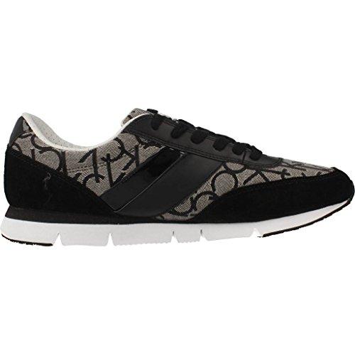 Suede Jacquard Basse Espadrillas Calvin Klein Logo Granite Uomo CK Juan 07IXq