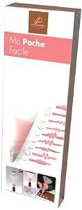 Daudignac JD 967.01 Kit de Pâtisserie ma Poche Facile Silicone Transparent